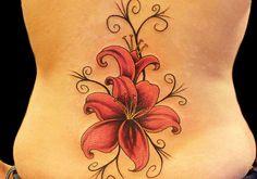 Lily Tattoo: Best Lower Back Tattoos :