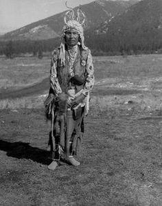 Flathead man - circa 1930