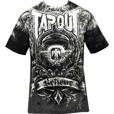 http://hotlistsports.com Tapout Mens MMA Short Sleeve T Shirt - Engraved - Xl | What The Athletes are Sporting