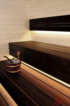Flot og eksklusiv sauna løsning i asp og termo asp. Se flere sauna løsninger her www.saunaovn.dk