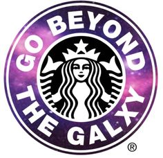 Go beyond the galxy with my Starbucks creation comment down bellow what color and name and I will make one for you Xoxo Kensley