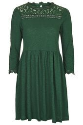 Long Sleeve Smock Dress from Topshop R640,00