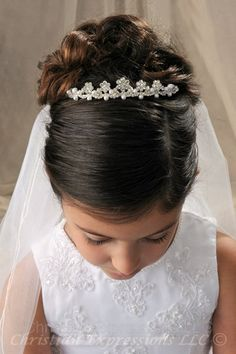 first holy communion tiaras ireland - Google Search