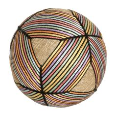 Neat Temari...black gives illusion of more raised pattern