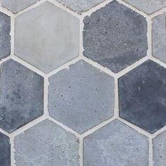 """Arabesque Portland 11"""" Colonial Hexagon Cement Tile"""