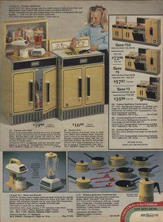 This was my play kitchen. Still remember the Christmas I got it. :)