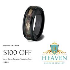 FREE Engraving and FREE Shipping within the United States!   If you're looking for styles of rings that are low-key, modest and unassuming, the Tungsten Ring is your best choice. This Tungsten Ring is the only rare and exotic metal that can be permanently polished.   Perfect gift for Men and Women.  Comes with a Free Elegant Jewelry Box.  FREE Engraving and FREE Domestic Shipping when you order today!  ***LIMITED TIME OFFER *** Order now!