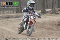 Jace Walters #117 @ Amherst Meadowlarks MC (50cc Open, 4-6) - 13 April 2014  #WaltersBrothersRacing #711WBR117 #Motocross #MX #AnySportHeroCards #AXO #BrapCap #DT1Filters #DunlopTires #EKSBrandGoggles #FafPrinting #Kalgard #K3offroad #MikaMetals #MotoSport #RiskRacing #SlickProducts #SpokeSkins #StepUpMX #dirtbike #KTM #MiniAventure #KTM50 #50cc #Walters #Brothers #Racing #Jace #CRA #AmherstMeadowlarks