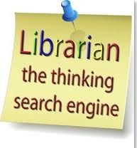 """Librarian: The thinking search engine."" - Unknown. Obviously. #reading #writing"