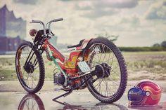"""PROJECT DANNY SCHRAMM'S WILD """"KREIDLER"""" Yamaha FS1-E (50CC)"""