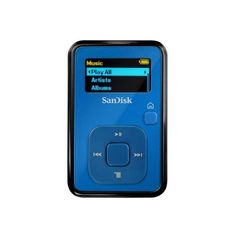 SanDisk Sansa Clip+ 4 GB MP3 Player (Blue) by SanDisk, http://www.amazon.com/dp/B002MAPSC6/ref=cm_sw_r_pi_dp_PJwZqb0CA1H60