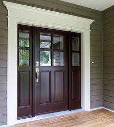 Curb Appeal {Front Door Inspiration + Paint Colors} | Favorite Paint Colors Blog