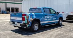 The IKORCC (Indiana/Kentucky/Ohio Regional Council of Carpenters) truck wrap is beautiful. I'm not only talking about the actual physical vehicle wrap, which is gorgeous, but also the sentiment behind it. Why would a Council of Carpenters wrap an entire vehicle with a thank a healthcare hero wrap? Union Carpenter, You Better Work, Car Wrap, West Virginia, Regional, Kentucky, Indiana, Ohio, Health Care