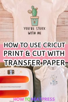 cricut vinyl projects How to Use Cricut Print And Cut With Avery Transfer Sheets Cricut Heat Transfer Vinyl, Iron On Cricut, Cricut Iron On Vinyl, Transfer Paper, How To Use Cricut, Cricut Help, How To Make, Cricut Print And Cut, Cricut Tutorials
