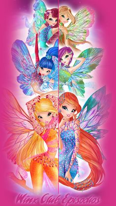 Winx Dreamix Official Artworks - Winx Club Episódios