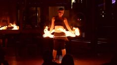 "Allison Slavik ""Bella Boheme"" Hoop Dance with Multiple Hoops and Fire"