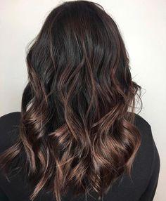 Brown Hair Balayage, Hair Color Balayage, Dying My Hair, Beautiful Hair Color, Hair Inspiration, Hair Inspo, Dark Hair, Pretty Hairstyles, Hair Hacks