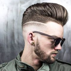 Model: im_a_fucking_eagle Hair & photography: r.braid Colour: petehatter click now for more. Hair And Beard Styles, Long Hair Styles, Modern Pompadour, Mens Hair Colour, Barbers Cut, Mens Hair Trends, Hair Photography, Moustaches, Male Hairstyles