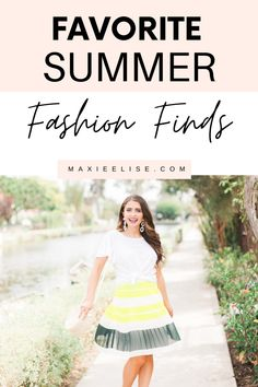 The latest summer fashion finds for 2020. #summerfashion #summerstyle