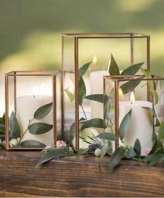 Copper Metal & Glass Taj Cube Votive Holder 3 75 Tall x 3 25 Wide is part of Wedding decorations - Find Copper candle holders and vases at Afloral com This glass cube box is perfect for a succulent terrarium Shop Now Copper Candle Holders, Glass Votive Holders, Diy Candle Holders Wedding, Candle Holder Decor, Copper Wedding Decor, Industrial Wedding Decor, Copper Decor, Wedding Greenery, Wedding Table Centerpieces