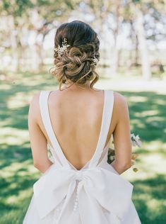 At Southern Weddings you'll find daily Southern wedding inspiration, real Southern weddings, and the best Southern wedding vendors. Cowgirl Wedding, Wedding Bows, Wedding Styles, Dream Wedding, Wedding Dress Bow, Camo Wedding, Wedding Rustic, Wedding Ceremony, Wedding Photos