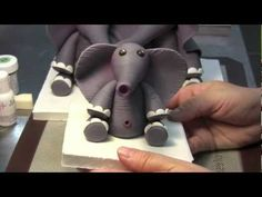 How To Make A Baby Elephant Cake Topper: Part One  from Krazy-Kool-Cake-Designs-by-Laura-E-Varela-Wong