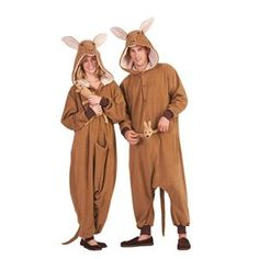 Kittle the Kangaroo Adult Unisex Funsie – 410794 trendyhalloweencom - Pregnancy Easy Costumes, Costumes For Teens, Super Hero Costumes, Adult Costumes, Halloween Costumes, Costume Ideas, Seussical Costumes, Adult Pajamas, Animal Pajamas