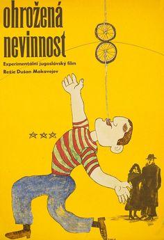 Vintage Polish movie posters