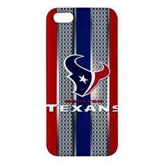 Houston Texans Style Metal Design iPhone 5 5s Hardshell Case Cover
