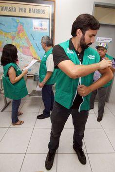 Fortaleza - jornalista vive dia de Fiscal