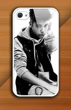 Personalized justin Bieber Photo for Phone 4 iphone 4s Print iphone hard case for iphone 4, iphone 4S-plastic cove