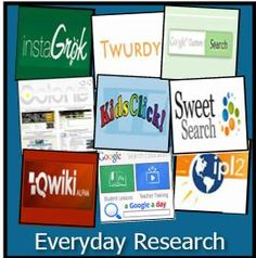 10 Free Tools for Everyday Research (Getting Smart by Susan Oxnevad) Searching for information and making sense of it is a process that involves critical thinking and it is an important skill. Fortunately, there are many free digital tools available to help students efficiently sift through an overwhelming abundance of web content to find the relevant and reliable information they need.
