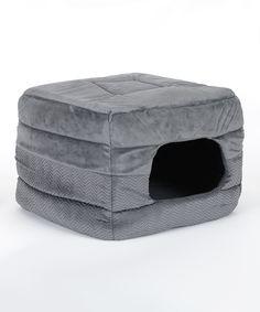 Love this Graphite Best Friends 2-in-1 Pet Cube by Best Friends by Sheri on #zulily! #zulilyfinds