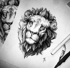 Alex Tabuns - LEO the lion design