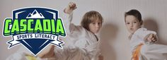 Save off 6 weeks Taekwondo lessons for kids at Cascadia Sports Literacy in Nanaimo. Includes a FREE uniform and private Introductory Lesson! Secret To Success, Confidence Building, Lessons For Kids, Taekwondo, Daily Deals, Teaching Kids, Textbook, Martial Arts, Literacy