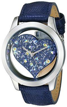 GUESS Women's U0113L8 Iconic Blue Watch with Heart Inspir... https://www.amazon.com/dp/B00G3LP9JM/ref=cm_sw_r_pi_dp_x_BxIUxbRJYGKDS