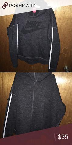 Nike hoodie sz l Nike hoodie sz l high low Nike Sweaters