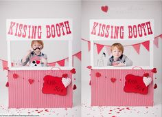 Besos Banner Stand. Photo Booth Banner por LittleRetreats en Etsy