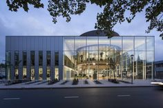 Completed in 2017 in Naaldwijk, The Netherlands. Images by Lucas van der Wee, Gert-Jan Vlekke. On Wednesday September 27, the new Westland town hall and municipality office were opened in Naaldwijk. The opening included an official ribbon...
