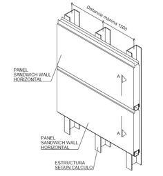 panel sandwich detalles constructivos - Buscar con Google