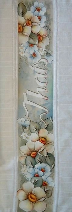 Fabric Painting, Tangled, Beautiful Flowers, Decoupage, Stencils, Hand Painted, Rose, Floral, Artwork