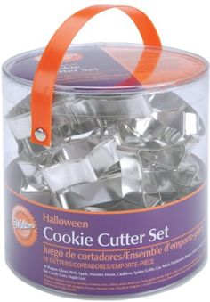 Wilton Halloween Metal Cookie 18-Piece Cutter Set Wilton http://www.amazon.com/dp/B000SE5NZK/ref=cm_sw_r_pi_dp_01Mbub02S51MW