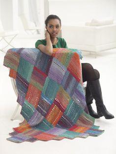 Crochet Patterns Galore - Diagonal Squares Afghan