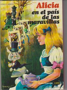 (R.60). Alicia en el Pais de las Maravillas. Bilbao,  Editorial Fher  1984. Col. Clásica Juvenil, nº 17.