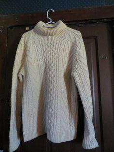 Vintage Handknit Irish Fisherman Sweater / by Linsvintageboutique