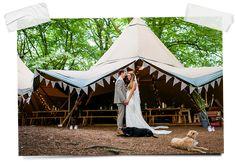Tents & Tipis - Woodland Weddings