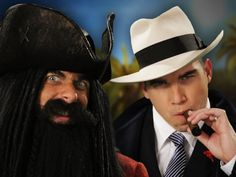 Blackbeard vs Al Capone.  Epic Rap Battles of History Season 3. (+playlist) Vote for Epic Rap Battles for the Youtube Awards!! They're awesome! If you haven't checked them out - DO IT.
