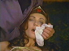 Wonder Woman drugged
