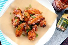 Mel's Creative Corner: Brown Butter Sriracha Wings!