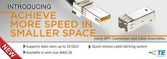 SHC GmbH - Introducing micro SFP+ Connectors and Cable Assemblies